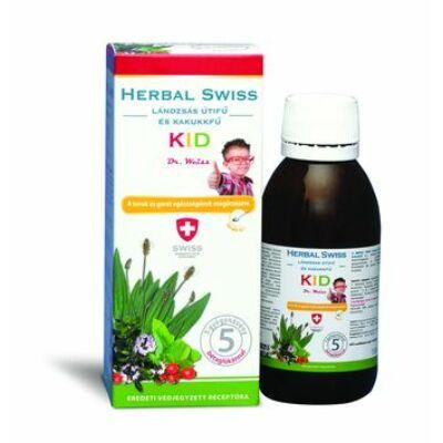 Herbal Swiss Köhögés elleni szirup gyerekeknek. 150 ml