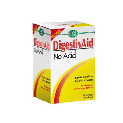 ESI DigestivAidNo Acid  természetes savlekötő lúgosító tabletta 60db