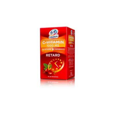1×1 Vitaday Retard Cvitamin 1000mg   D3   csipkebogyó tabletta – 50db