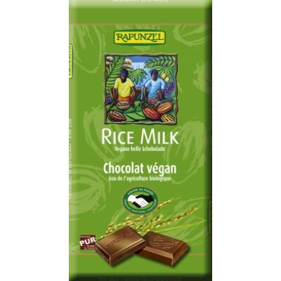Rapunzel bio Rizstejes csokoládé vegán 100 g