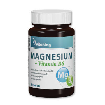 Vitaking Magnézium   B6 tabletta 30 db