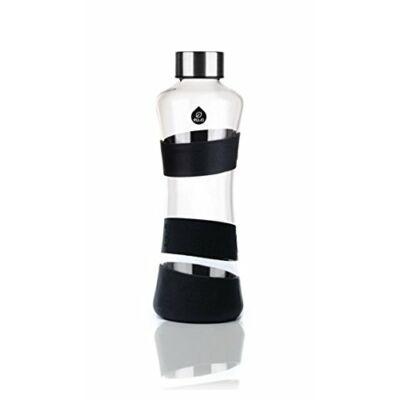 MyEqua Fekete üvegkulacs 550 ml  Limitált kiadás