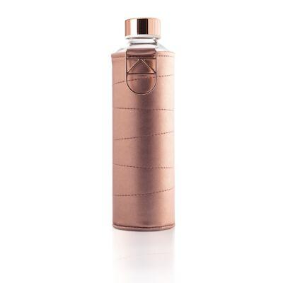 MyEqua Mismatch üvegkulacs 750 ml  Bronz