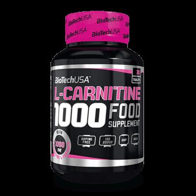 BioTech LCarnitine 1000 mg 30 db tabletta