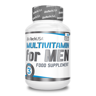 BioTech Multivitamin for Men férfivitamin 60 db