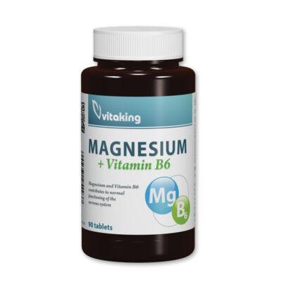 Vitaking Magnézium   B6 tabletta 90 db