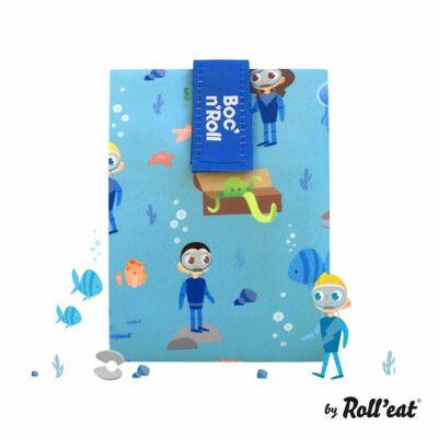 Boc n Roll KIDS kék szendvics csomagoló  Óceán