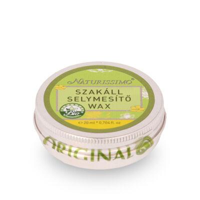 Naturissimo Szakáll selymesítő wax 20 ml
