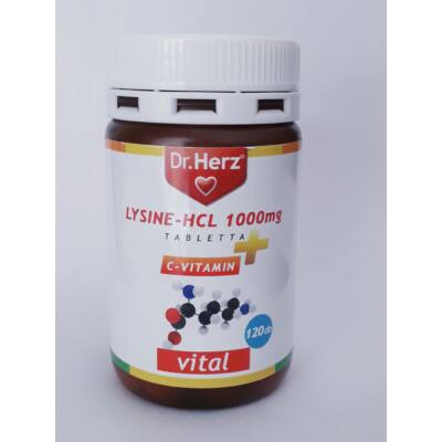 Dr. Herz LysineHCL 1000 mg 120 db