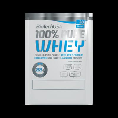 BioTech 100százalékos Pure Whey 28 g  Kókuszcsokoládé íz