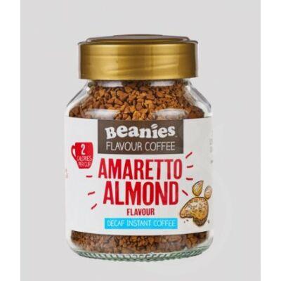 Beanies koffeinmentes instant kávé Amaretto