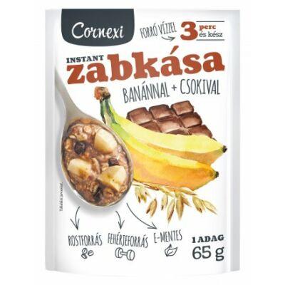 Cornexi banánoscsokis zabkása 65 g