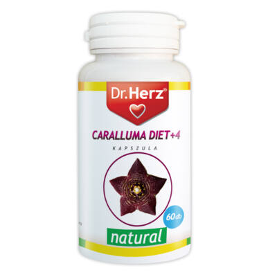 Dr Herz Caralluma Diet 4 kapszula 60db