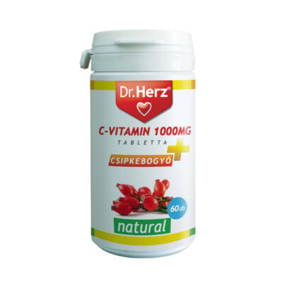 Dr. Herz Cvitamin 1000mg   Csipkebogyó tabletta 60 db