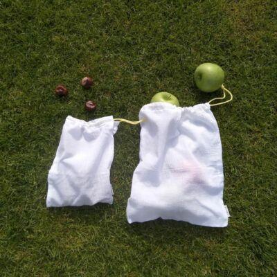 Julka textilszütyő bevásárláshoz - M - 30*35 cm