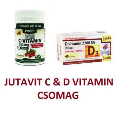 JUTAVIT C-vitamin & D-vitamin csomag