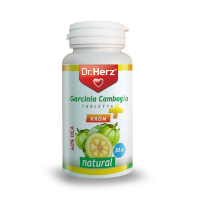 Dr. Herz Garcinia Cambogia   Króm 30 db tabletta