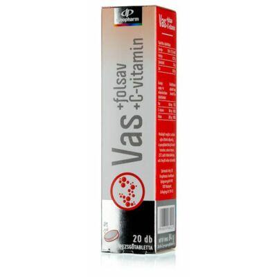 InnoPharm Vas   Cvitamin pezsgőtabletta 20 db