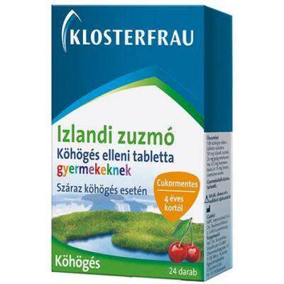 Izlandi zuzmó Köhögés elleni tabletta 24 db