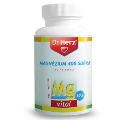 Dr. Herz Magnézium Supra 400 mg kapszula 60 db