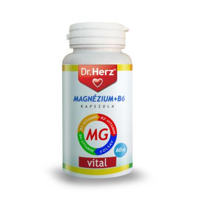 Dr. Herz Magnézium B6 kapszula 60 db