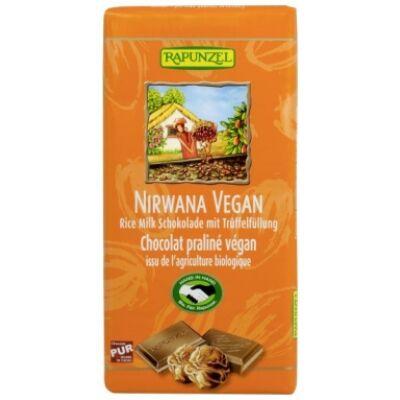 Rapunzel bio Nirwana csokoládé rizstejjel vegán 100 g