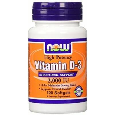 Now D3 vitamin 2000 IU 120 kapszula