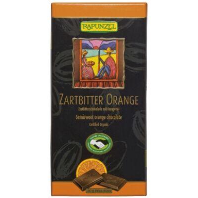 Rapunzel bio Félédes narancsos csokoládé vegán 80 g