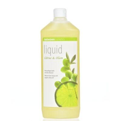 Sodasan bio folyékony szappan citromolíva 1000 ml