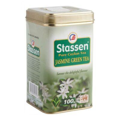 Stassen Fémdobozos jázminos zöld tea 100 g