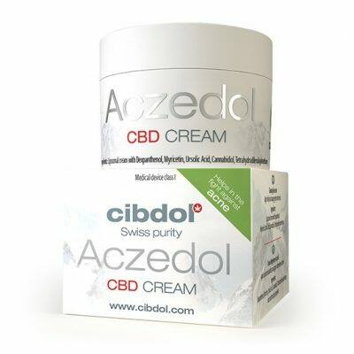 Cibdol Aczedol CBD krém acnés bőrre 50ml