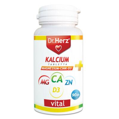 Dr. Herz Kalcium Magnézium Cink D3 90db tabletta