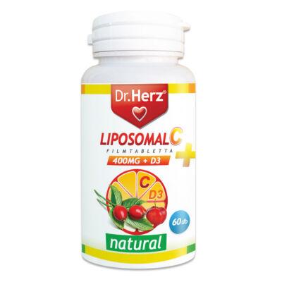 Dr. Herz Liposomal C D3 60 db tabletta
