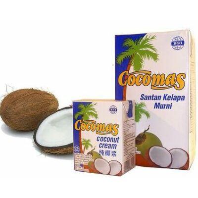 Cocomas 100százalékosos kókuszkrém kókusztejszín 200 ml