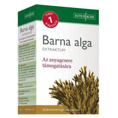 Interherb barna alga kapszula 30 db