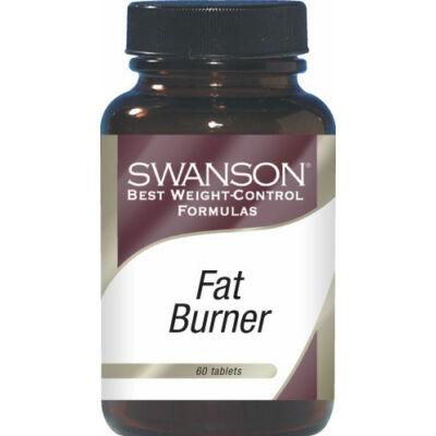 Swanson Fat Burner zsírégető tabletta 60 db
