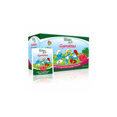 Herbária Herba Kids gyümölcstea gyermekeknek málna ízben 20 filter