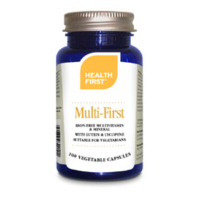 Health First Multi First Europe vasmentes multivitamin 60 db