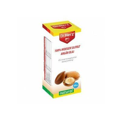 Dr. Herz hidegen sajtolt argán olaj 50 ml