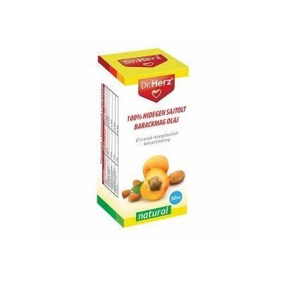 Dr. Herz hidegen sajtolt sárgabarackmag olaj 50 ml