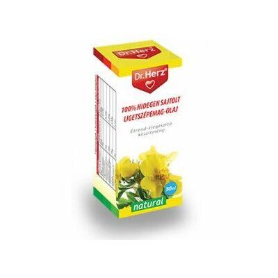 Dr. Herz 100százalékos hidegen sajtolt ligetszépemagolaj 50 ml