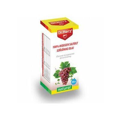 Dr. Herz hidegen sajtolt szőlőmag olaj 50 ml