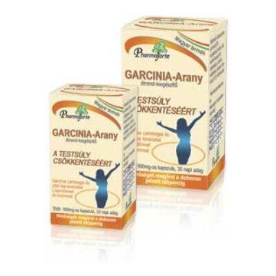 GarciniaArany kapszula 30 db  A testsúly csökkentéséért