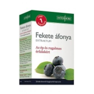Interherb fekete áfonya extraktum kapszula 250 mg 30 db