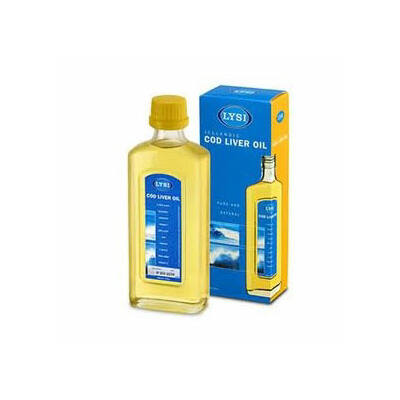 Lysi tőkehalmáj olaj citromos 240 ml