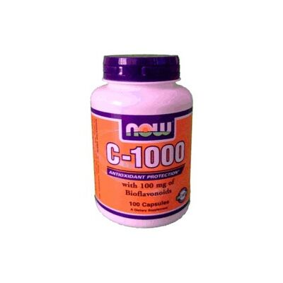 Now Cvitamin 1000 kapszula Bioflavonoid 100 db