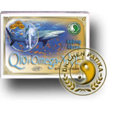 Dr. Chen Q10koenzim Omega3 kapszula Evitaminnal 40 db