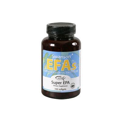 Swanson Super EPA Omega3 halolaj 100 db lágyzselatin kapszula