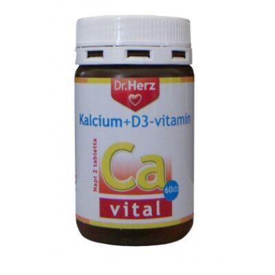 Dr. Herz Kalcium D3vitamin 60 db