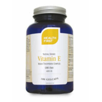 Health First Vitamin E 400 IU természetes tokoferol keverék 180 db